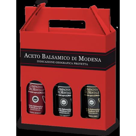 Tris of Aged Balsamic Vinegar