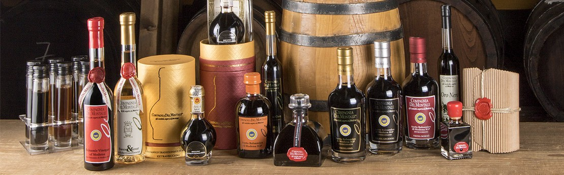 full range o balsamic vinegar